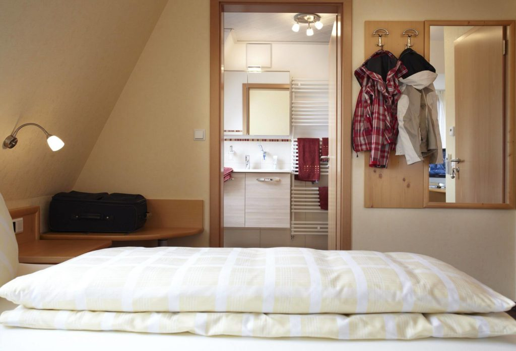 Doppelzimmer Nr. 7 im Gasthof zum Löwen bei Langenenslingen