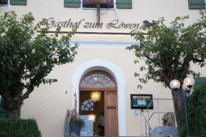 Eingang zum Gasthof zum Löwen