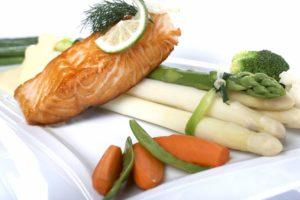 Lachs mit Spargel - Saisonale Küche