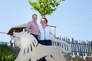 Sandra und Jürgen Reck - Gastgeber im Gasthof zum Löwen