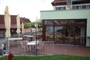 Hochsaison auf Biergarten & Kinderspielplatz @ Gasthof zum Löwen | Langenenslingen | Baden-Württemberg | Deutschland